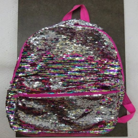Unlisted Handbags - Magic SEQUINS BACKPACK Compact PRICED CHEAP